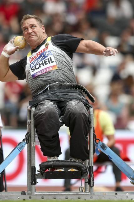 World Para Athletics Championships London 16 07 2017 Daniel Scheil GER BVS Weiden F33 waehre
