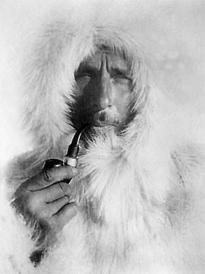 Polarforscher Alfred Wegener; dpa
