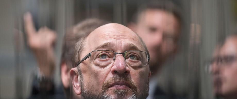 Martin Schulz besucht Projekt für Langzeitarbeitslose