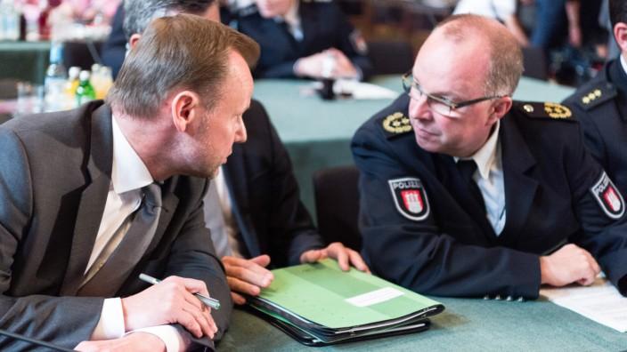 Sonderausschuss zum Sicherheitskonzept beim G20-Gipfel