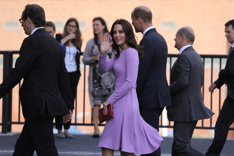 Prinz William und Herzogin Catherine besuchen Hamburg