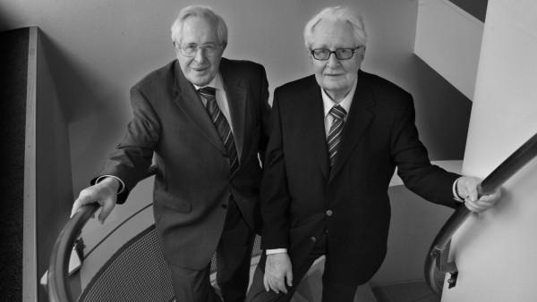 Bernhard Vogel und Hans-Jochen Vogel