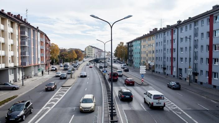 Tegernseer Landstraße in München, 2015