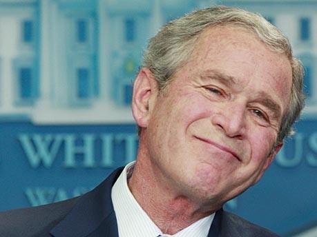 us präsident george w. bush reuters