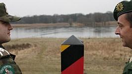 Deutsch-polnische Grenze, ddp