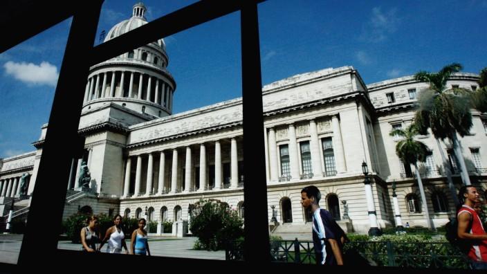 Russisch-kubanische Beziehungen: Mutet amerikanisch an: Das Kapitol in der kubanischen Hauptstadt Havanna.