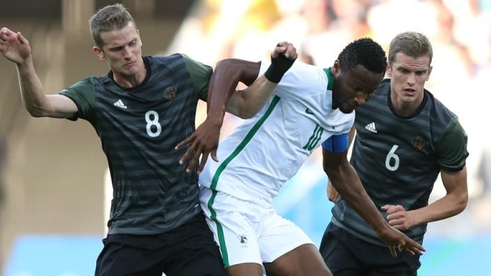 Nigeria vs Germany - Semi Final: Men's Football - Olympics: Day 12; Sven Bender und Lars Bender