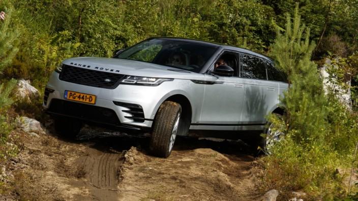 SUV im Fahrbericht: Die günstigste Variante des Range Rover Velar kostet 56 400 Euro, für 108 050 Euro bekommt man die First Edition.