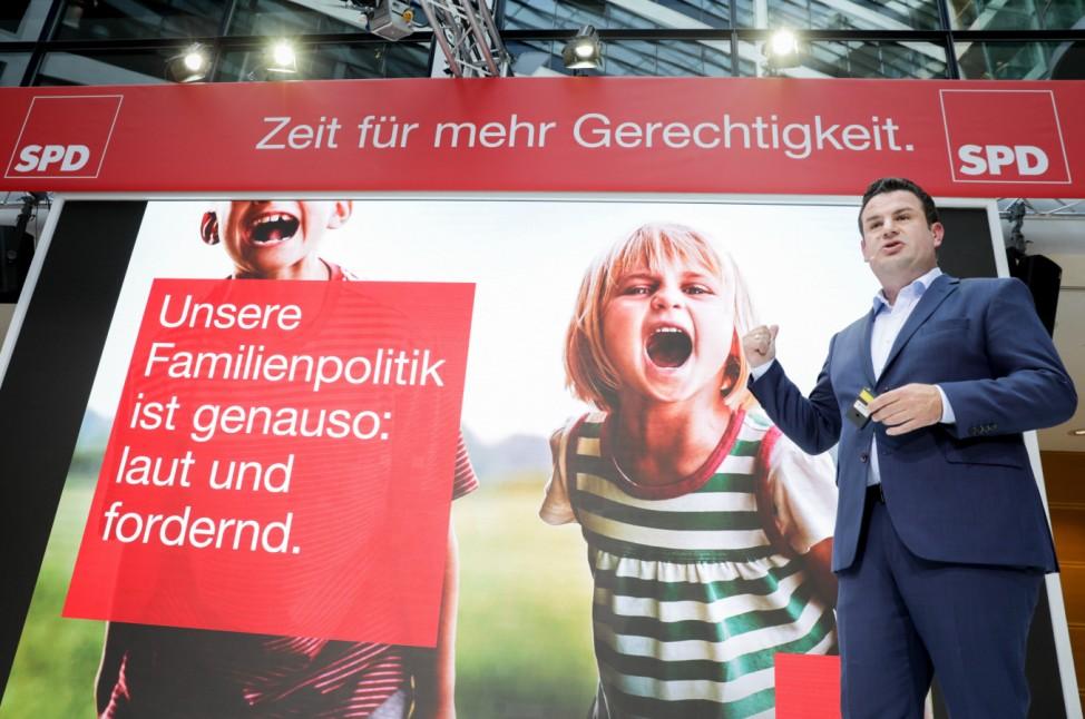 Die SPD präsentiert ihre Kampagne für die Bundestagswahl