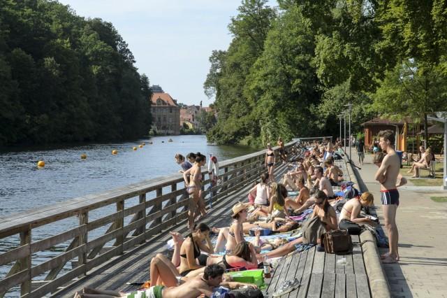 Die Hainbadestelle Bamberg