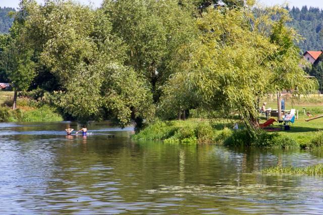 Flussbad Bayern