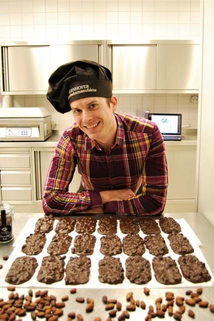 Georg Bernhofer eröffnet von September 2017 an eine Chocoladenmanufaktur in Wolfratshausen, im Obermarkt 16 -18, ehemals Foto Speedy.
