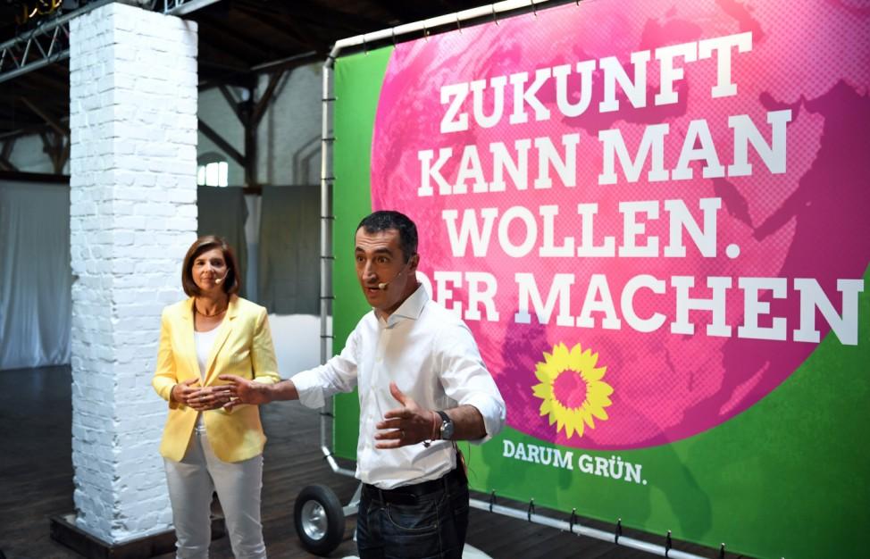 Wahlkampagne der Grünen zur Bundestagswahl