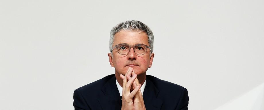 Rupert Stadler bei der Audi-Hauptversammlung