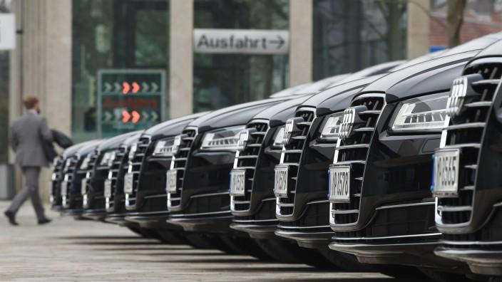 """Abgasskandal: """"Vorsprung durch Technik"""" ist der Slogan der Automarke Audi - Seit dem Dieselskandal hat der Satz eine neue Bedeutung bekommen."""