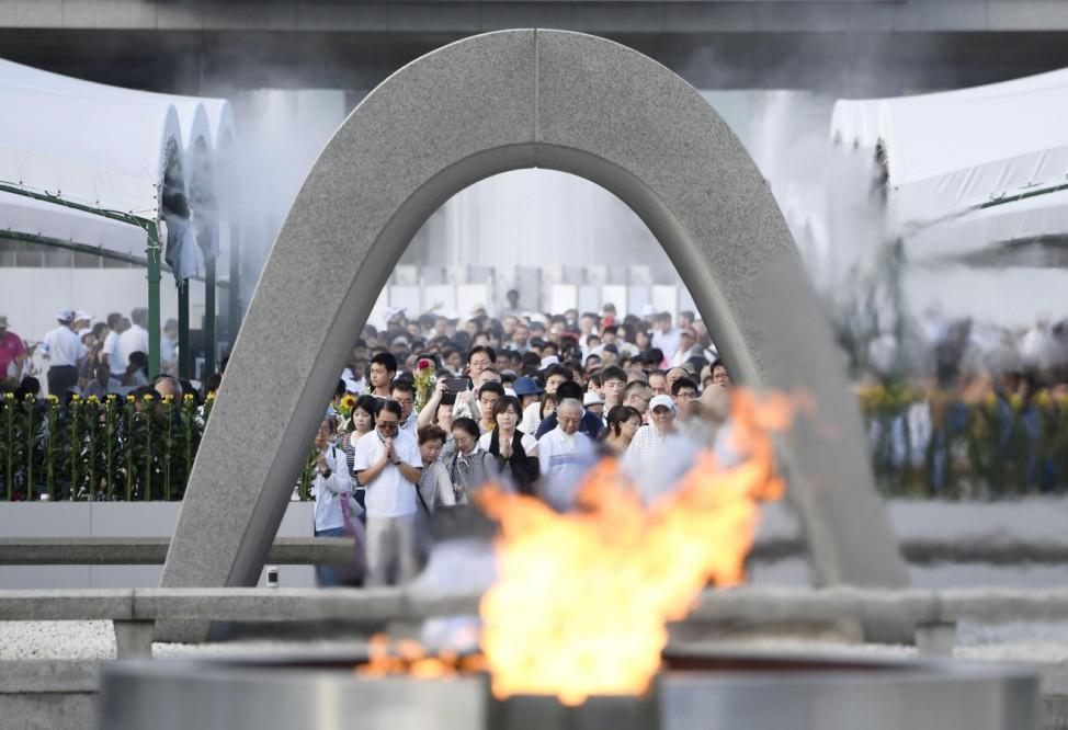 Jahrestag des Atombombenabwurfs in Hiroshima