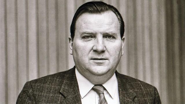 Kurt Vajen CDU Mitglied im Niedersächsischem Landtag Hannover 1986