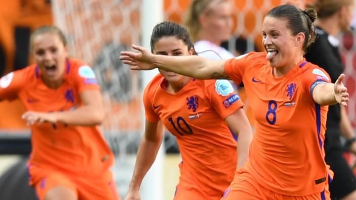 Frauenfußball EM Niederlande sind erstmals Europameister