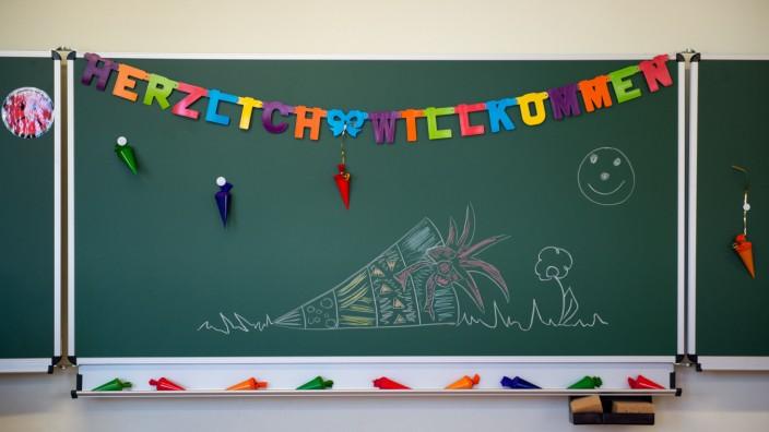 Unterrichtsbeginn für Schulanfänger in Sachsen