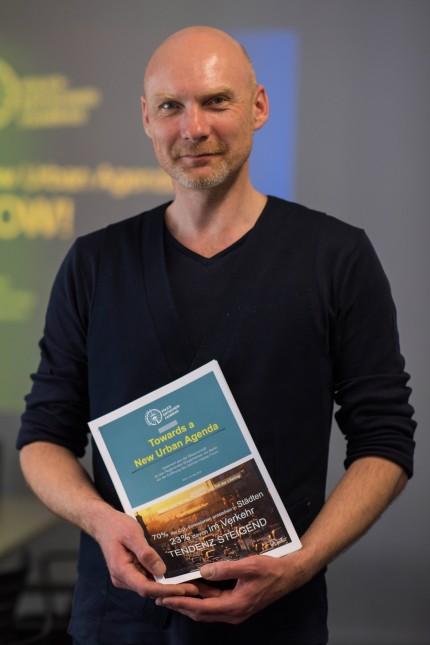 Berlin Verkehr Erklaerung äNew Urban Agenda Pressekonferenz zur Uebergabe der äNew Urban Agenda Erk