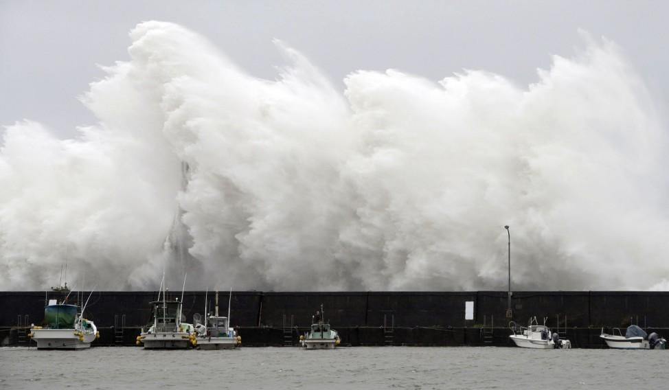 Taifun in Japan