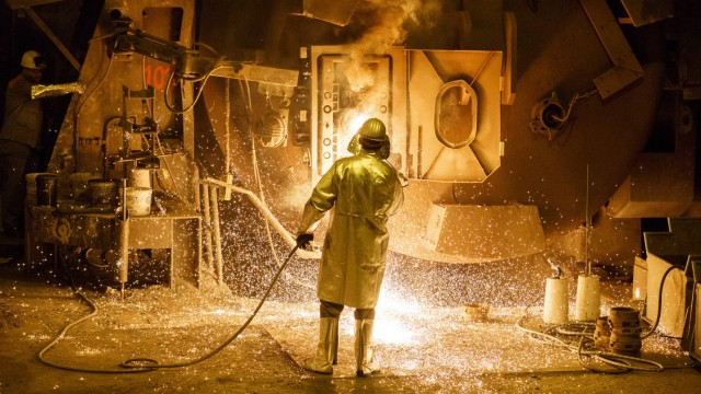 ***BESTPIX*** Steel Production At Salzgitter AG
