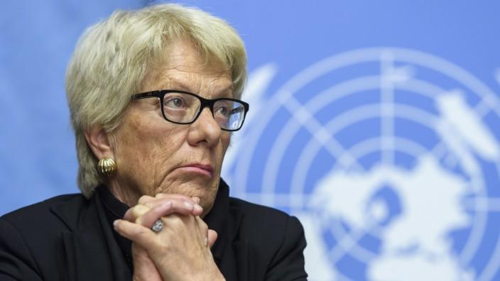 Ex-Chefanklägerin Carla Del Ponte