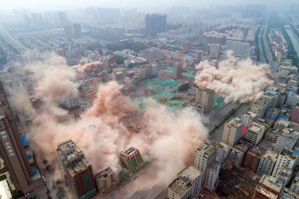 'Größtes Dorf in der Stadt' zerstört