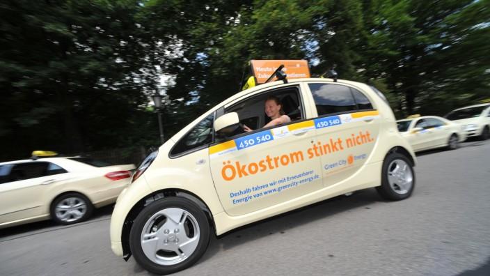 Elektro-Taxi in München, 2011