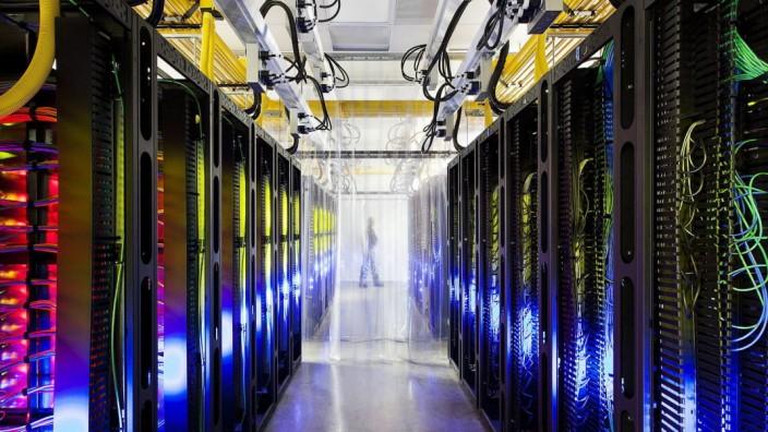 Google Data Center in Council Bluffs, USA
