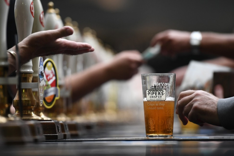 Real Ale Enthusiasts Attend CAMRA Great British Beer Festival