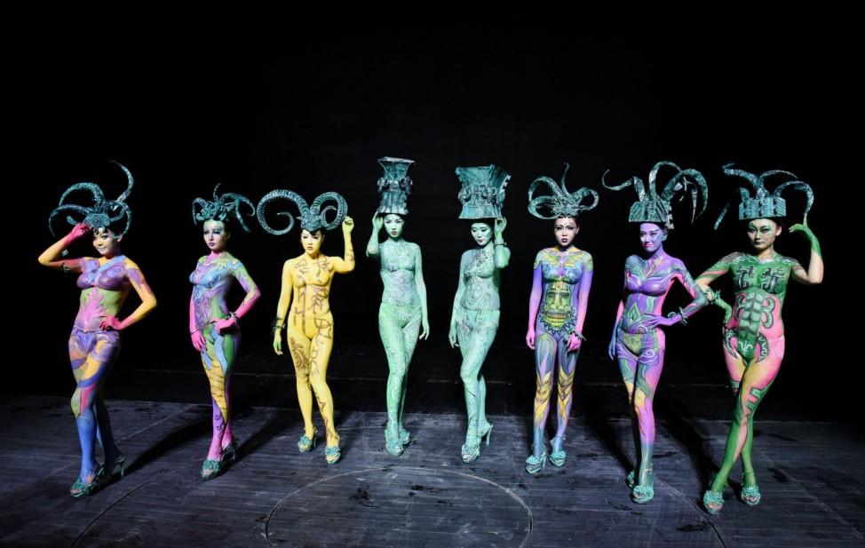 Tanzperformance in Changsha