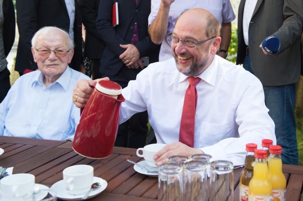 Sommerreise Martin Schulz