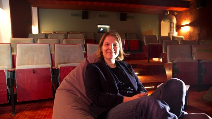 """Anne Harder im """"Neuen Maxim Kino"""" in München, 2016"""