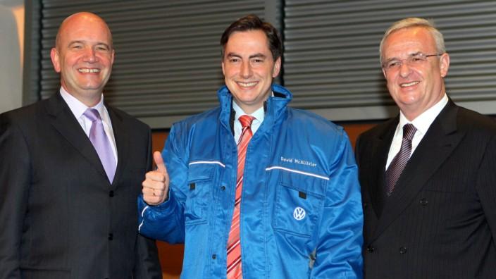 Betriebsversammlung bei Volkswagen
