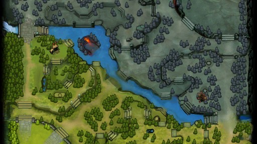 Dota 2 Minimap