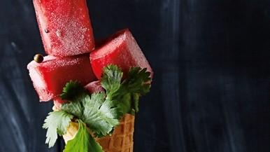 Das Rezept Geeiste Wassermelone Raue