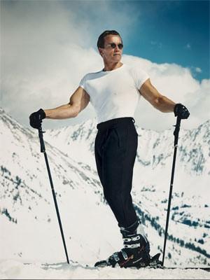Arnold Schwarzenegger Leibovitz