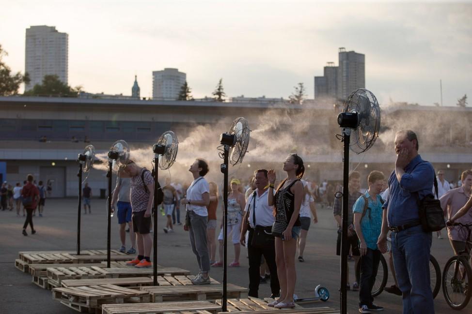 Hitze in Russland