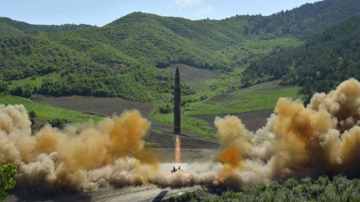 Neuer nordkoreanischer Raketentest