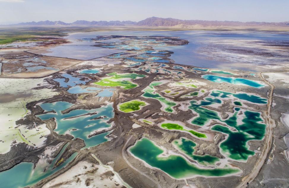 Emerald Lake in Qinghai