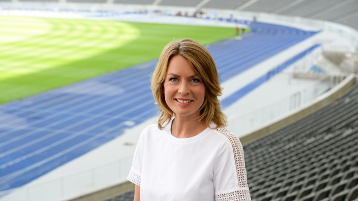 Sportschau-Moderatorin Jessy Wellmer