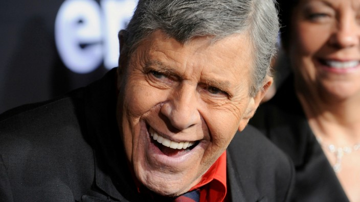 FILE PHOTO - U.S. comedian Lewis attends special screening of feature-length documentary 'Method to the Madness of Jerry Lewis' in Los Angeles