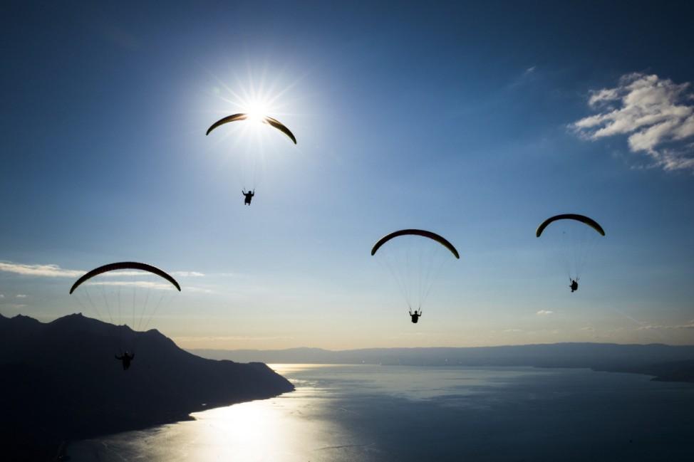 Paragliding in der Schweiz
