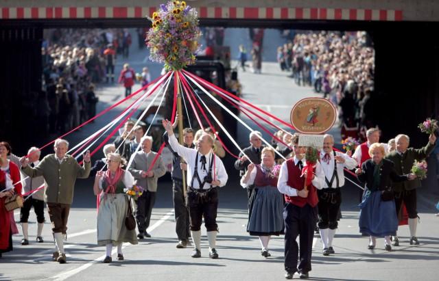 Erntedankumzug in Fürth