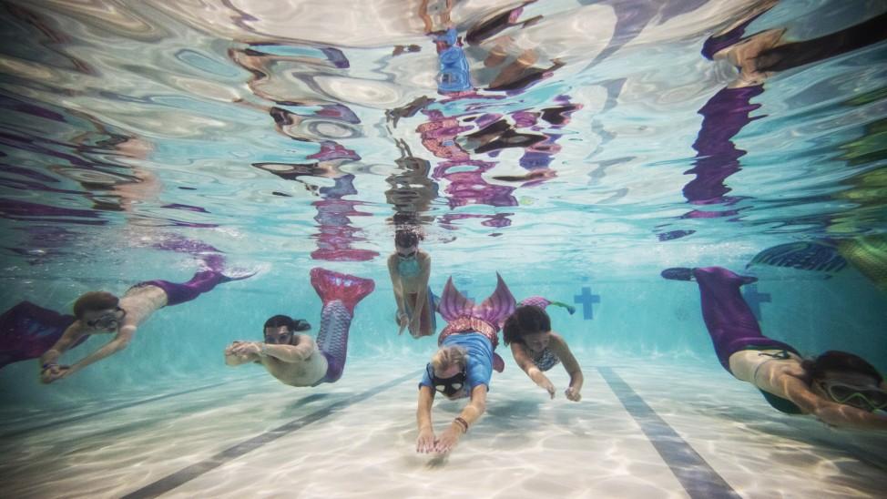 Mermaid Training School In Bournemouth