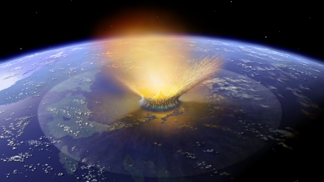 Asteroiden - Gefahr für die Erde ist hoch