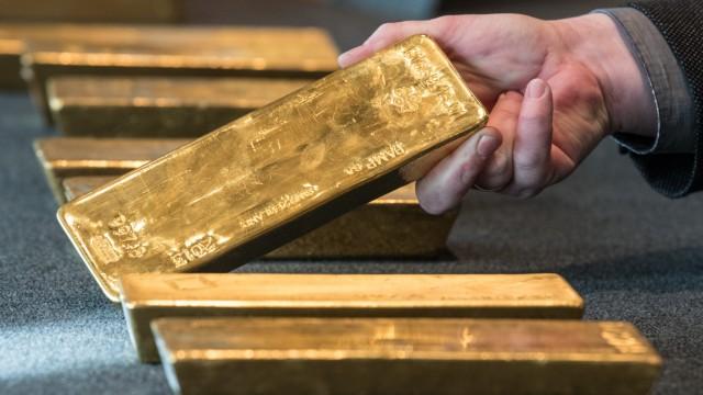 Bundesbank zeigt deutsches Gold