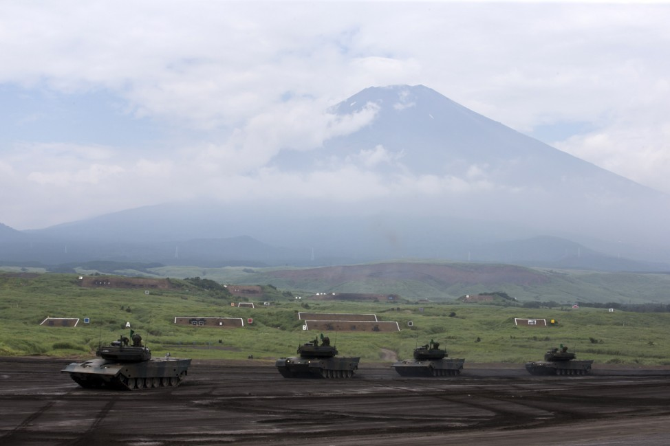 JGSDF live-fire exercise Amid Rising Tension Between North Korea And US