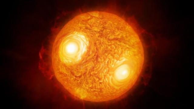 Astronomie: Künstlerische Darstellung von Antares